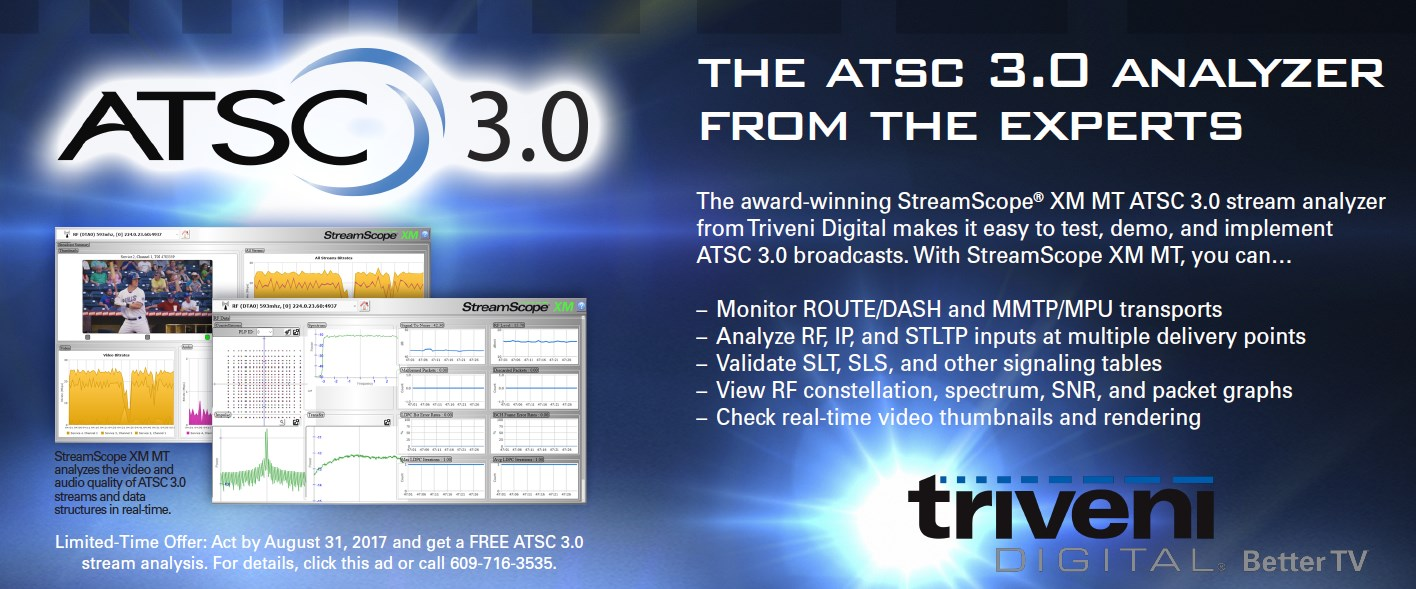 The ATSC 3.0 Analyzer From the Experts